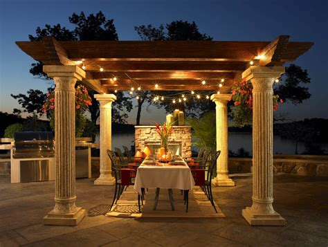 great outdoor room tuscany outdoor pergola rooms picture to pin on