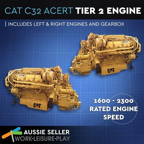 caterpillar boat engines cat c32 acert marine propulsion tier 2 caterpillar engine