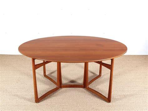 modern folding dining table mid century modern teak folding dining table by hvidt and