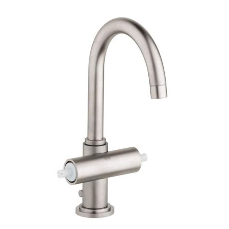 grohe single bathroom faucet grohe atrio single 2 handle bathroom faucet in nickel