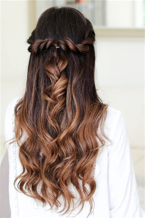 easy hairstyles for hair down 20 awesome half up half down wedding hairstyle ideas