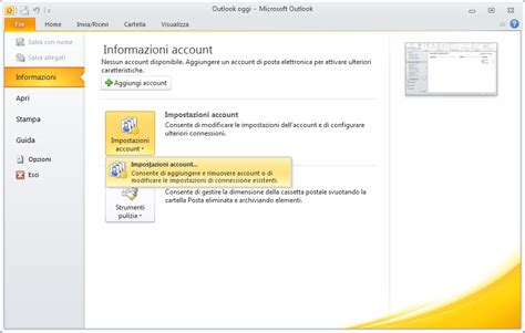 tutorial configuracion outlook 2010 imap configurazione imap su microsoft outlook 2010 assistenza