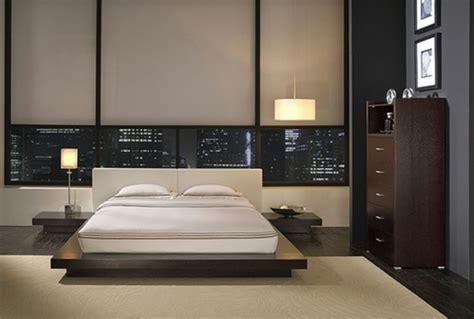 bett verschönern schlafzimmer einrichten asiatisch
