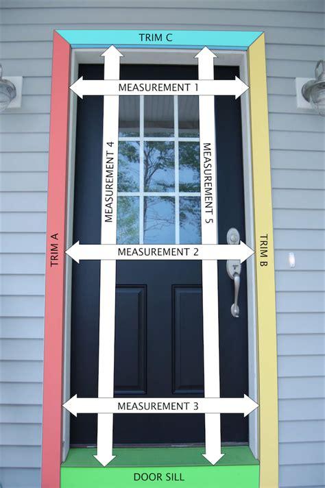 measure   screen door wood screen doors