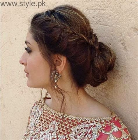 latest pakistani and indian eid hairstyle hair accessories 2014 latest hairstyles for eid 2016