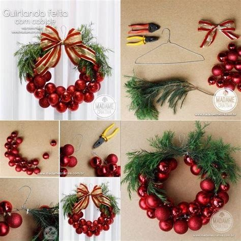diy easy christmas wreath pictures photos and images for facebook tumblr pinterest and twitter