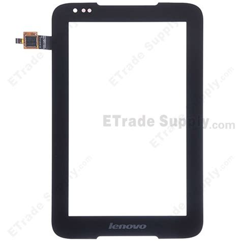 Lcd Lenovo A1000m 4 Original lenovo ideatab a1000 digitizer touch screen black