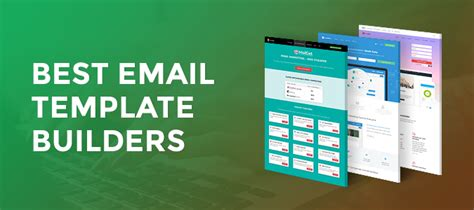 best email templates 5 email template builders design free responsive email