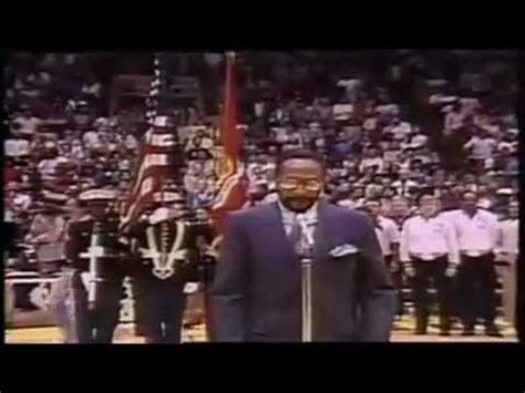 Marvin Gayes National Anthem by Marvin Gaye Sings The United States National Anthem At The