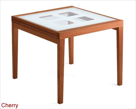 best expandable dining tables 36in expandable dining table w frosted glass top italy 33d92