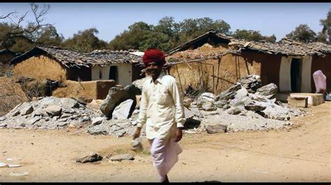 stock background footage village house indian village