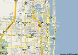 map of palm florida map of hton inn west palm central airport fl