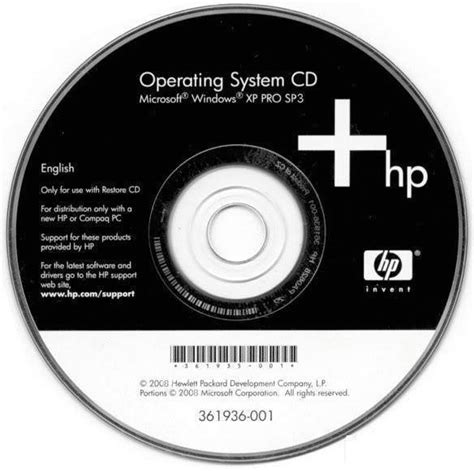 Disk Compac Windows Xp Recovery Disk For Hp
