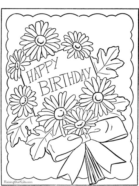 free coloring pages happy birthday printable free printable coloring pages happy birthday 2015