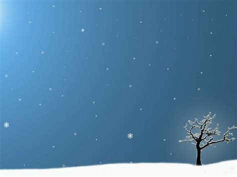winter ppt background powerpointhintergrund