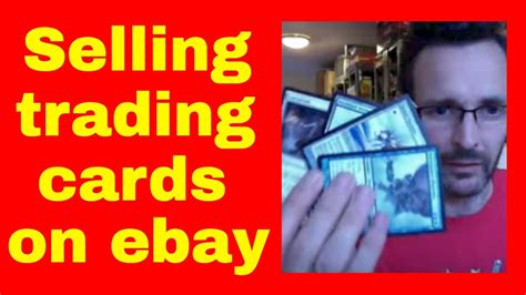 Ebay Online Gift Card - how to sell trading cards on ebay selling mtg trading cards online youtube