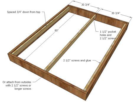 queen size platform bed frame ana white chestwick platform bed queen size diy projects