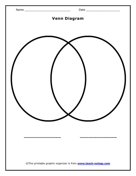 printable venn diagram printable venn diagram
