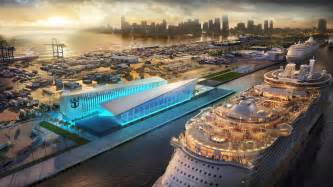 royal caribbean cruises royal caribbean signs agreement with miami dade county to