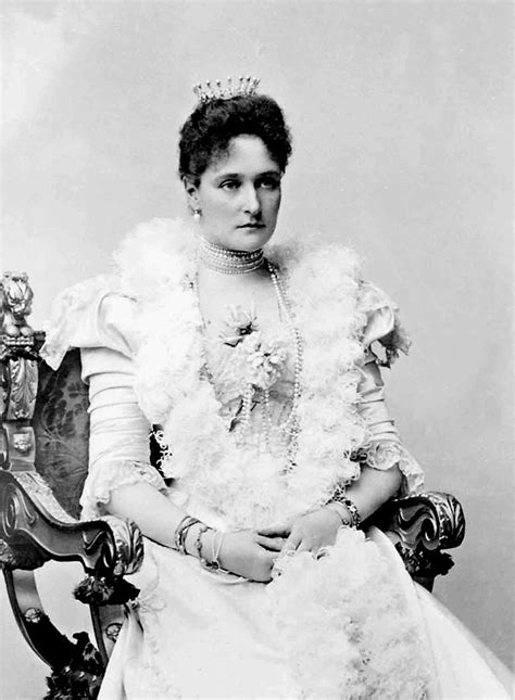the belle poque 1890 to 1914 grand ladies gogm 1898 tsaritsa alexandra in dress with spyglass sleeves
