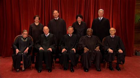 supreme court justices nine at last supreme court justices sit for class photo