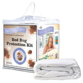 protect  bed bed bug protection kit home bed bath bedding basics mattress pads