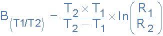 ntc resistor equation thermistors and ntc thermistors