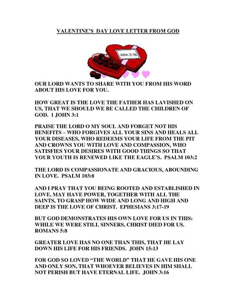 valentines letter for valentines day letters for him