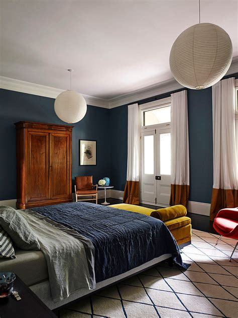mustard bedroom ideas the avenue by arent pyke homeadore deep airforce blue