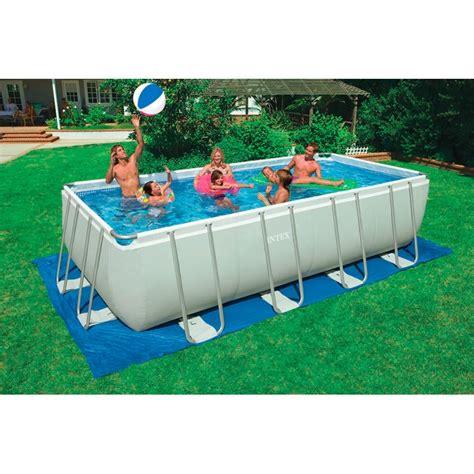 piscina da giardino intex piscina fuori terra intex ultra frame 549x274x132 cm san