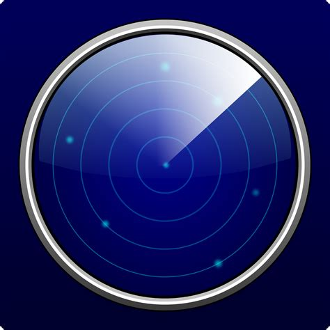 image of clipart just another radar screen