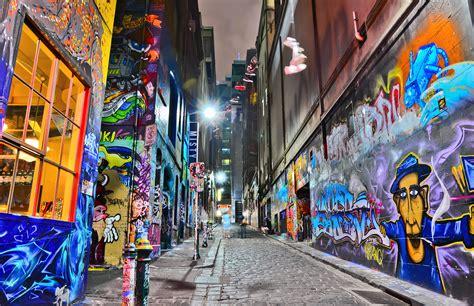 colorful graffiti view of colorful graffiti artwork at hosier in