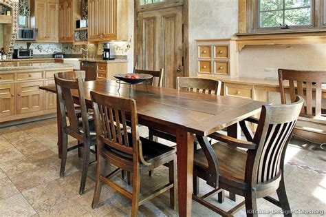 Ideas For Kitchen Tables | rustic kitchen designs pictures and inspiration