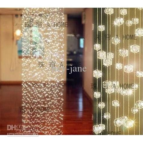crystal curtains wholesale 10strands x 1m long crystal curtain wedding decoration
