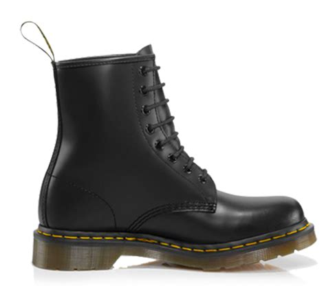 dr martens 1460 womens black smooth doc martens boots