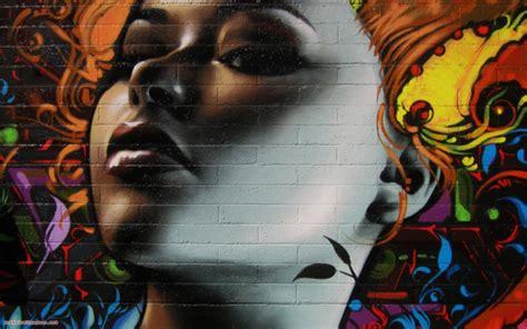 graffiti walls full color graffiti desktop background design