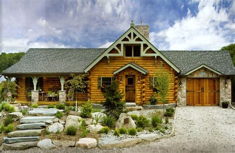 log cabin design ideas exterior traditional with green window trim mountain home