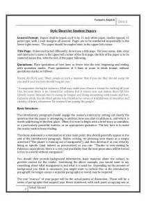 Academic Research Essay by Guidelines For Writing Scholarly Paper By Sohail Ahmed