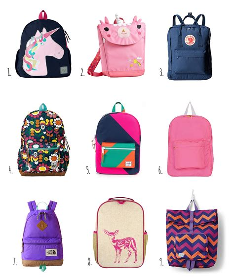 7 Bags For Back To School by Hiccups Back To School Backpacks