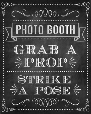 Free Printable Photo Booth Sign Template Free Printable Photo Booth Props New Year 2015 New Calendar Template Site