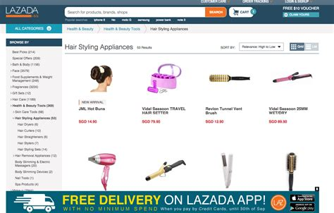 Bosch Hair Dryer Singapore top 10 hairstyling tools from lazada singapore