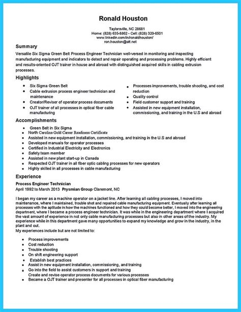 cable installer resume sle cable technician resume cover letter