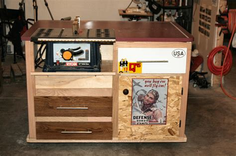 most accurate table saw img 5005 the home made table saw stand cabinet