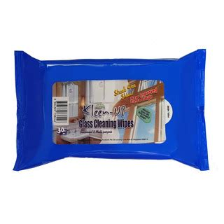 Kleen Up Glass Cleaning Wipes Kleen Up Biru Kleen Up Disinfecting Wipes Glass 30s Fairprice