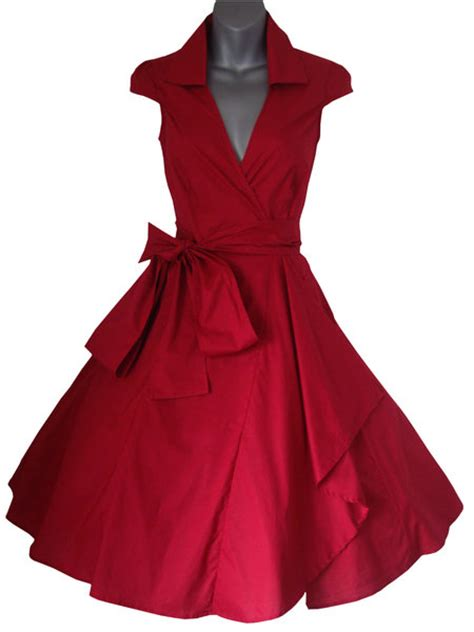 vintage mode swing swing pinup rockabilly dress look for the