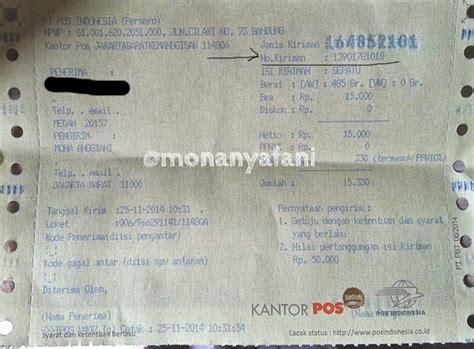 cek resi kilat khusus lacak kiriman pos indonesia cepat mudah 2018 cekresi com