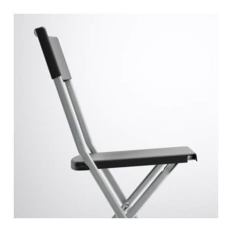 ikea gunde gunde folding chair black ikea