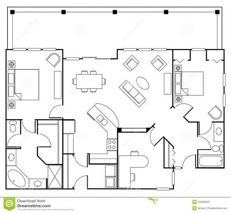 clipart furniture floor plan floor plan clipart clipground