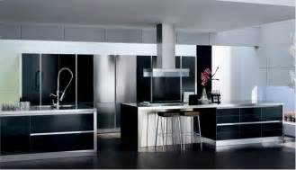 Kitchen With Black And White Cabinets 30 Black And White Kitchen Design Ideas Digsdigs