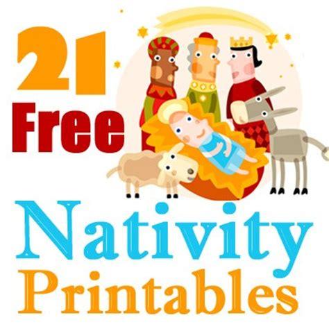 printable nativity scene story 21 free nativity printables
